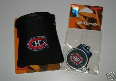 Montreal Canadiens Auto Car Pouch Organizer & Air Freshener Set Gift