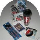 New Jersey Devils 4pc Hockey Gift Net Basket Travel Mug