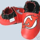 New Jersey Devils Leather Baby Shoes Booties 0-6 Months Gift