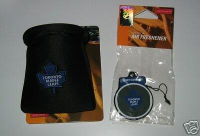 Toronto Maple Leafs Auto Car Pouch Organizer & Air Freshener Set Gift