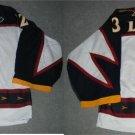 03/04 Kari Lehtonen Atlanta Thrashers Game Worn Rookie Jersey 2 Patches MeiGray COA - FREE SHIP