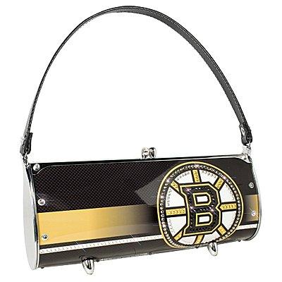 Boston Bruins Littlearth Fender Flair Purse Bag Swarovski Crystals Hockey Gift