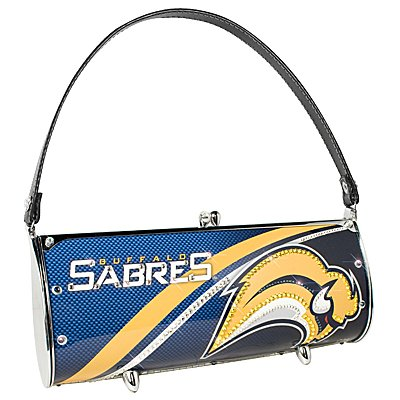 Buffalo Sabres Littlearth Fender Flair Purse Bag Swarovski Crystals Hockey Gift