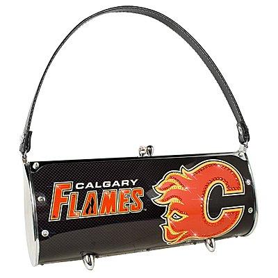 Calgary Flames Littlearth Fender Flair Purse Bag Swarovski Crystals Hockey Gift