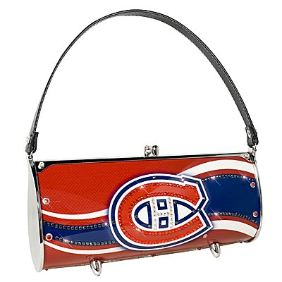 Montreal Canadiens Littlearth Fender Flair Purse Bag Swarovski Crystals Hockey Gift