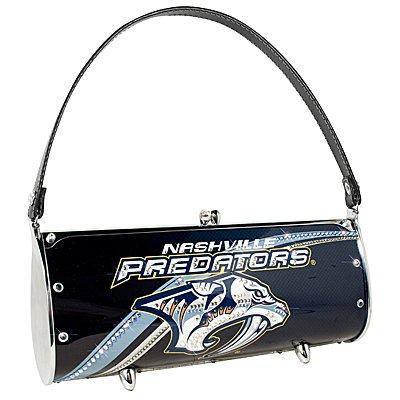 Nashville Predators LIttlearth Fender Flair Purse Bag Swarovski Crystals Hockey Gift