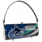 Vancouver Canucks Littlearth Fender Flair Purse Bag Swarovski Crystals Hockey Gift