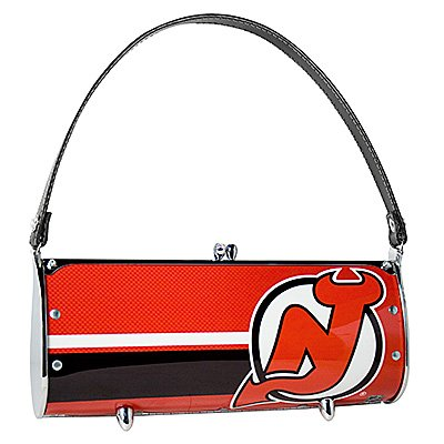 NJ New Jersey Devils Littlearth Fender Purse Bag Hockey Gift