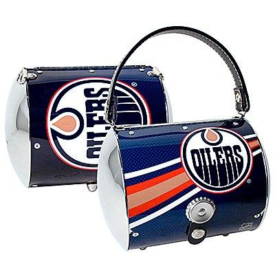 Edmonton Oilers Littlearth Super Cyclone Purse Bag Hockey Gift