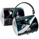 San Jose Sharks Littlearth Super Cyclone Purse Bag Hockey Gift