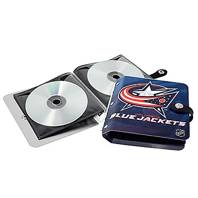 Columbus Blue Jackets Littlearth Rock-n-Road CD DVD Holder Gift