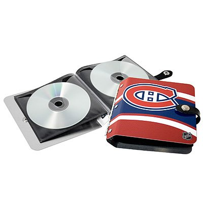 Montreal Canadiens Littlearth Rock-n-Road CD DVD Holder Gift