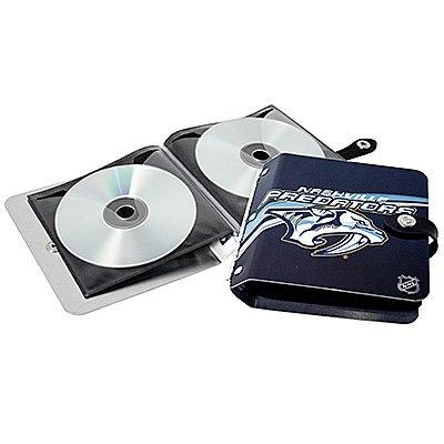 Nashville Predators Littlearth Rock-n-Road CD DVD Holder Gift