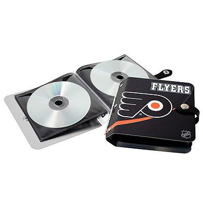 Philadelphia Flyers Littlearth Rock-n-Road CD DVD Holder Gift