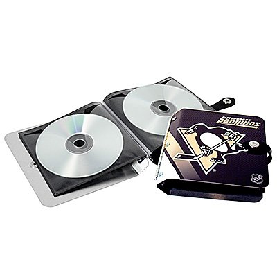 Pittsburgh Penguins Littlearth Rock-n-Road CD DVD Holder Gift