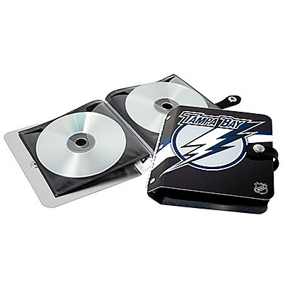 Tampa Bay Lightning Littlearth Rock-n-Road CD DVD Holder Gift