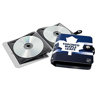Toronto Maple Leafs Littlearth Rock-n-Road CD DVD Holder Gift