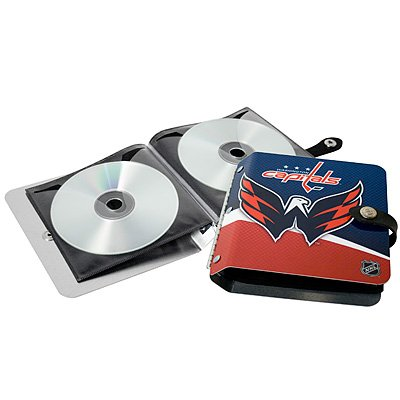 Washington Capitals Littlearth Rock-n-Road CD DVD Holder Gift