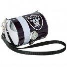 Oakland Raiders Littlearth Petite Purse Bag Gift