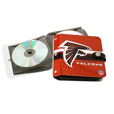 Atlanta Falcons Littlearth Rock-n-Road CD DVD Holder Case Gift