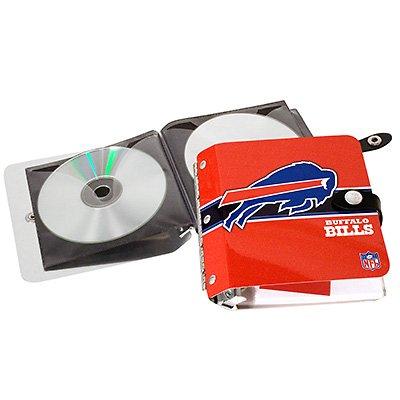Buffalo Bills Littlearth Rock-n-Road CD DVD Holder Case Gift