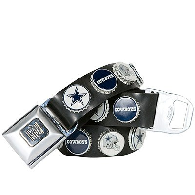 Dallas Cowboys Littlearth Bottle Cap Belt SIZE SMALL Gift IN STOCK