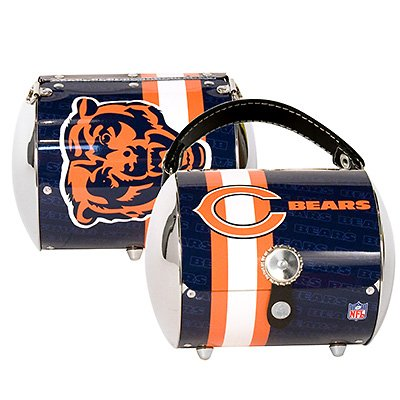 Chicago Bears Littlearth Super Cyclone Purse Bag Gift