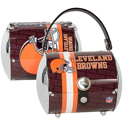 Cleveland Browns Littlearth Super Cyclone Purse Bag Gift
