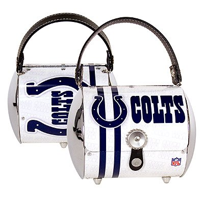 Indianapolis Colts Littlearth Super Cyclone Purse Bag Gift