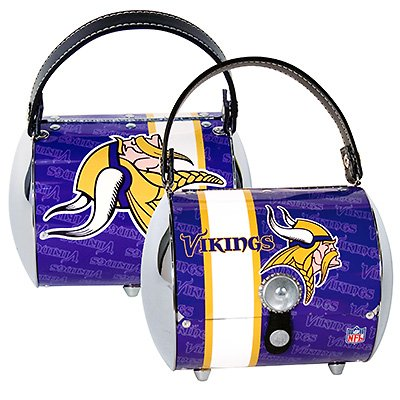 Minnesota Vikings Littlearth Super Cyclone Purse Bag Gift