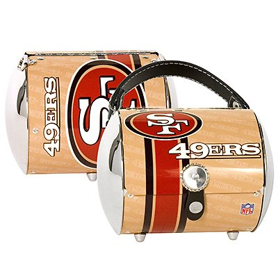 San Francisco 49ers Littlearth Super Cyclone Purse Bag Gift