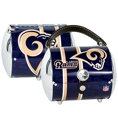 St. Louis Rams Littlearth Super Cyclone Purse Bag Gift