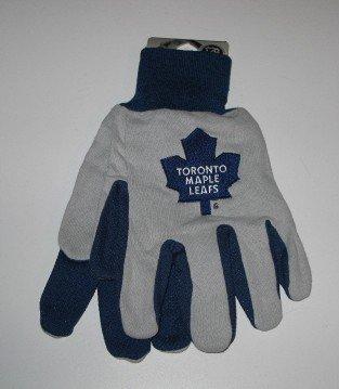 Toronto Maple Leafs 2-Tone Work Garden Gloves Gift