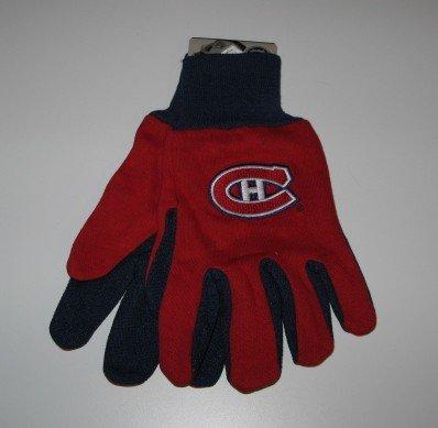 Montreal Canadiens 2-Tone Work Garden Gloves Gift