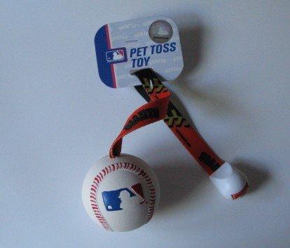 San Francisco Giants Pet Dog Baseball Ball Toss Tug Toy Gift