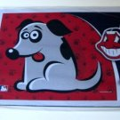 Cleveland Indians Dog Pet Food/Water Padded Mat Placemat Gift