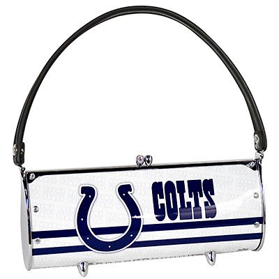 Indianapolis Colts Littlearth Fender License Plate Purse Bag Gift