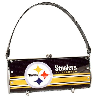 Pittsburgh Steelers Littlearth Fender License Plate Purse Bag Gift