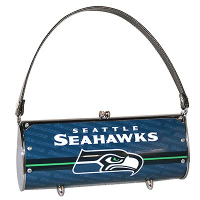 Seattle Seahawks Littlearth Fender License Plate Purse Bag Gift