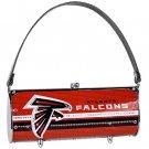 Atlanta Falcons Littlearth Fender Flair Purse Bag Swarovski Crystals Gift