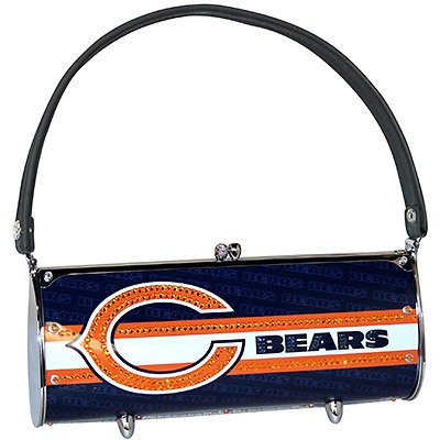 Chicago Bears Littlearth Fender Flair Purse Bag Swarovski Crystals Gift