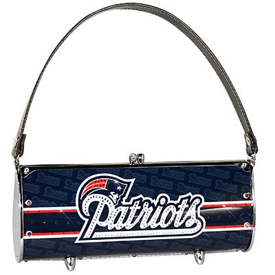 New England Patriots Littlearth Fender Flair Purse Bag Swarovski Crystals Gift