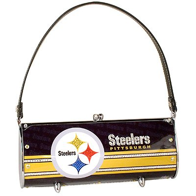 Pittsburgh Steelers Littlearth Fender Flair Purse Bag Swarovski Crystals Gift