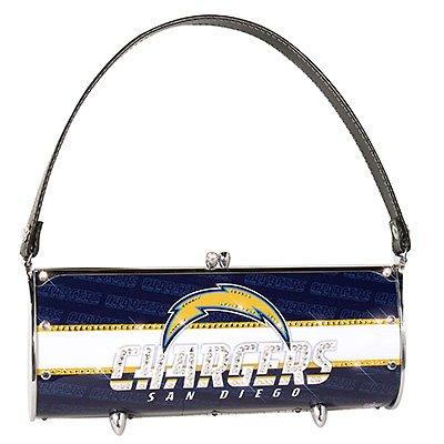 San Diego Chargers Littlearth Fender Flair Purse Bag Swarovski Crystals Gift