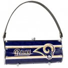 St. Louis Rams Littlearth Fender Flair Purse Bag Swarovski Crystals Gift