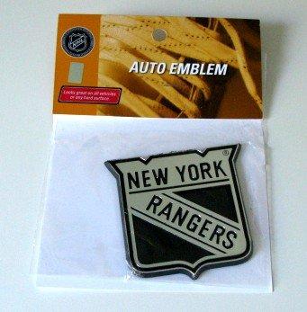 New York Rangers Chrome Auto Car Emblem Gift