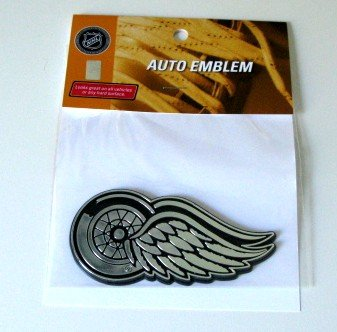 Detroit Red Wings Chrome Auto Car Emblem Gift