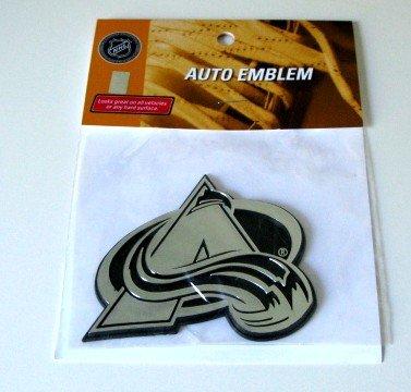 Colorado Avalanche Chrome Auto Car Emblem Gift