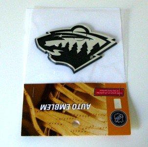 Minnesota Wild Chrome Auto Car Emblem Gift