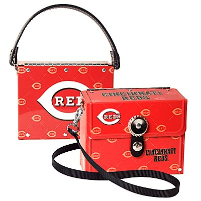Cincinnati Reds Littlearth Fanatic License Plate Purse Bag Gift